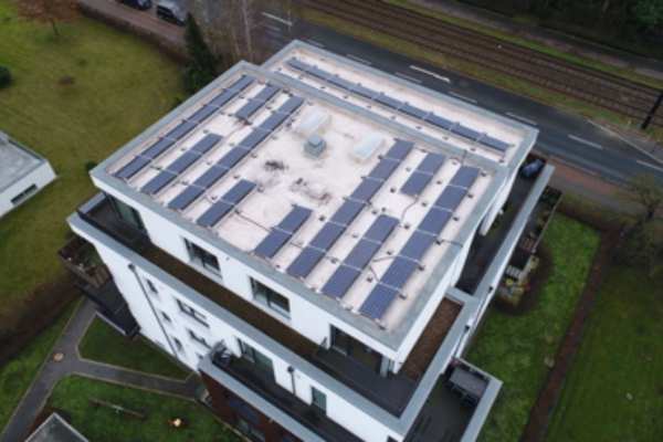 Solar service for urban multi-tenant buildings